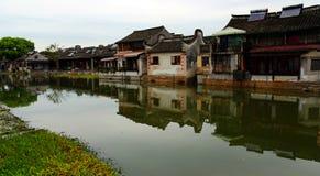 Jiaxing, ville de Xitang, province de Zhejiang, Chine Photographie stock