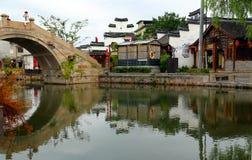 Jiaxing, ville de Xitang, province de Zhejiang, Chine Images stock