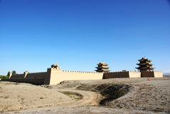 Jiayu pass Stock Photo