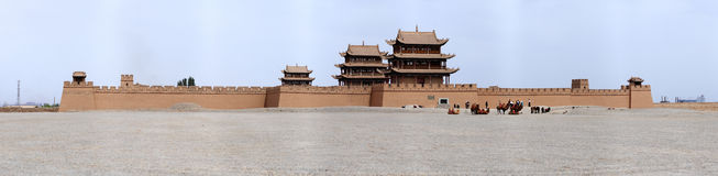 Jiayuguan Royalty Free Stock Photos