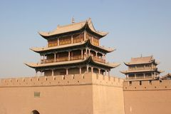 JiaYuGuan Royalty Free Stock Images