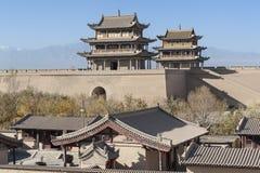 Jiayuguan Castle Royalty Free Stock Image
