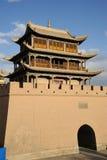 JiaYuGuan city Stock Photo