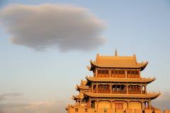 JiaYuGuan city Royalty Free Stock Images