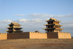JiaYuGuan city Stock Photography