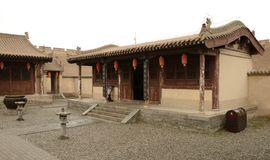 Jiayuguan city Royalty Free Stock Photography