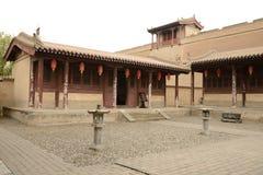 Jiayuguan city Royalty Free Stock Photos