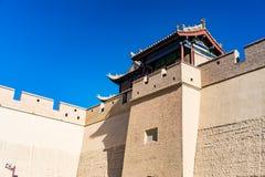 Jiayuguan dans la province de Gansu de la Chine photos stock