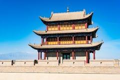 Jiayuguan dans la province de Gansu de la Chine photo libre de droits