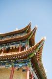Jiayuguan-Festung Stockfotos