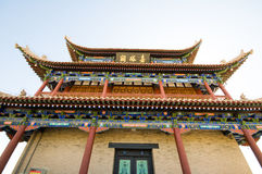 Jiayuguan-Festung Lizenzfreie Stockfotos