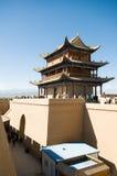 Jiayuguan-Festung Lizenzfreie Stockbilder