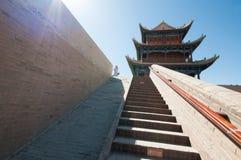 Jiayuguan-Festung Lizenzfreies Stockfoto