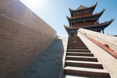 Jiayuguan-Festung Stockbild