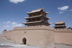 Jiayuguan Fort 4 Stock Photography