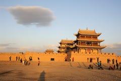 JiaYuGuan miasto Obraz Stock