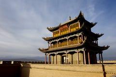 Jiayuguan Stadt lizenzfreie stockbilder