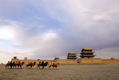 Jiayuguan Tower Stock Photography