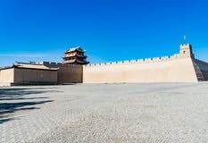 Jiayuguan w Gansu prowinci Chiny Zdjęcie Royalty Free