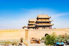 Jiayuguan w Gansu prowinci Chiny Fotografia Royalty Free