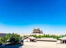 Jiayuguan w Gansu prowinci Chiny Obraz Stock
