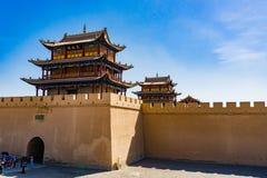 Jiayuguan w Gansu prowinci Chiny Obrazy Stock