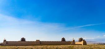 Jiayuguan w Gansu prowinci Chiny Obraz Royalty Free