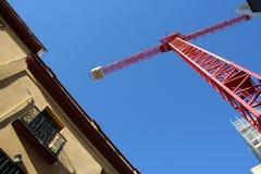 Jib crane Stock Images