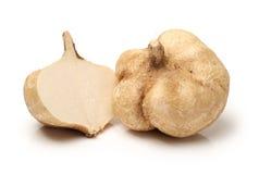 Jicama. Isolated on white background Stock Image