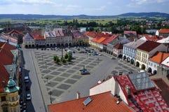 Jicin town square. Czech Republic Royalty Free Stock Photo