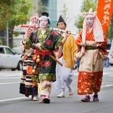 Jidai Matsuri在京都,日本 免版税库存照片