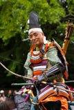 Jidai Matsuri节日的武士,京都,日本 库存照片
