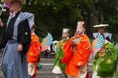 Jidai Matsuri节日 免版税库存照片