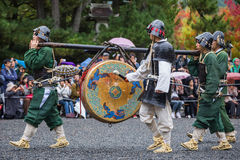Jidai Matsuri à Kyoto, Japon Photos stock