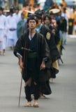 Jidai Matsuri Festival Lizenzfreies Stockfoto