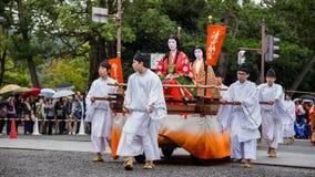 Jidai Matsuri a Kyoto, Giappone Immagine Stock