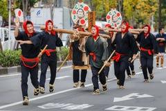 Jidai Matsuri in Kyoto, Japan Stock Afbeeldingen