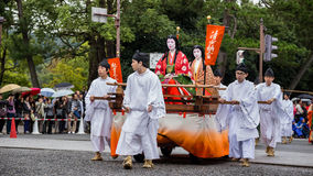 Jidai Matsuri in Kyoto, Japan Stock Afbeelding