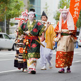 Jidai Matsuri in Kyoto, Japan Royalty-vrije Stock Foto