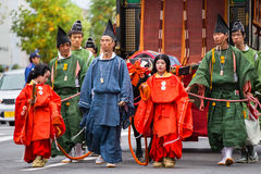 Jidai Matsuri in Kyoto, Japan Stock Photography