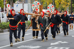 Jidai Matsuri in Kyoto, Japan Stock Images