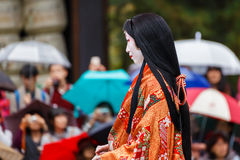 Jidai Matsuri in Kyoto, Japan Royalty Free Stock Image