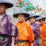 Jidai Matsuri in Kyoto, Japan Royalty Free Stock Photography
