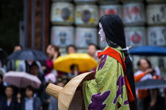 Jidai Matsuri in Kyoto, Japan Royalty Free Stock Photos