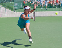 Jie Zheng at the 2010 BNP Paribas Open Royalty Free Stock Image