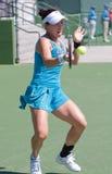 Jie Zheng at the 2010 BNP Paribas Open. Tennis tournament at Indian Wells, California Stock Image