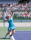Jie Zheng at the 2010 BNP Paribas Open Stock Images