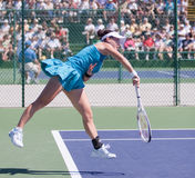 Jie Zheng at the 2010 BNP Paribas Open Royalty Free Stock Photography