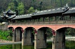 Jie Zi, China: Dragon Covered Bridge Royalty Free Stock Image