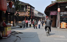 Jie Zi, China: Jiangcheng Street Old Houses Stock Photo